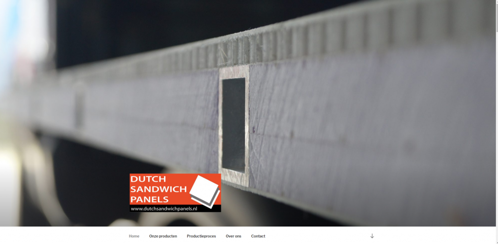 Dutch Sandwich Panels website